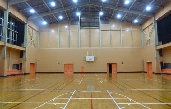 体育館導入設置事例1
