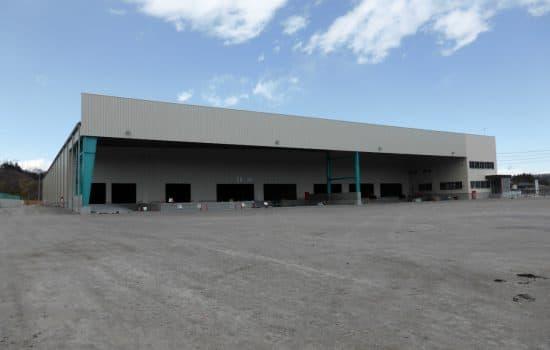新設 大型倉庫導入事例