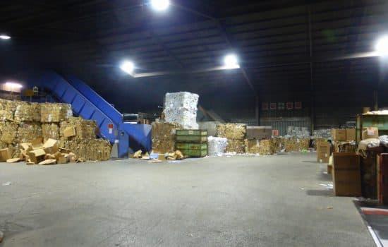 廃棄物処理工場 導入事例